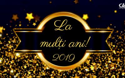 Felicitare Anul Nou 2019