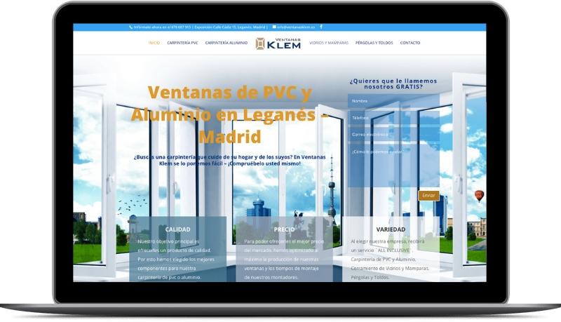 Creare Siteweb ventanasklem